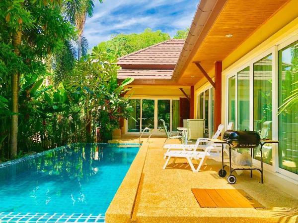 Thai Family karon 3 bedroom pool villa Phuket