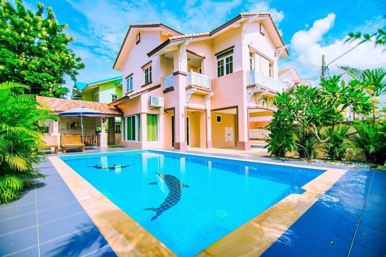 Pattaya Luxury Thai Villa 3 Bed Room วิลลา 3 ห้องนอน 3 ห้องน้ำส่วนตัว ขนาด 300 ตร.ม. – หาดจอมเทียน