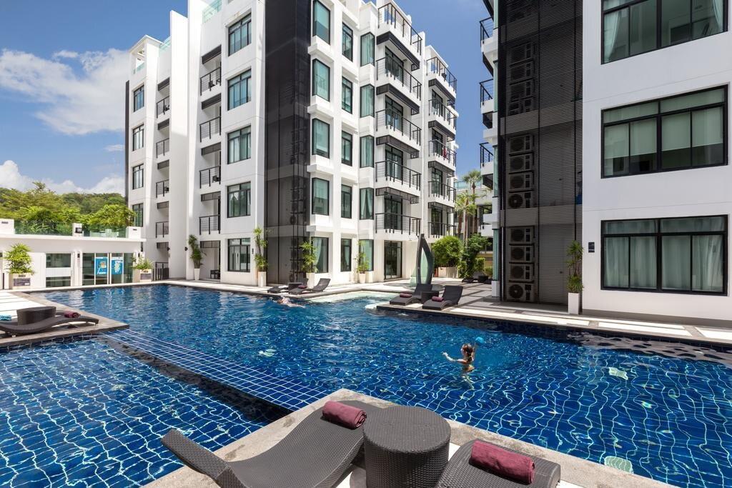 Kamala Regent D202 - pool and gym, walk to beach อพาร์ตเมนต์ 3 ห้องนอน 2 ห้องน้ำส่วนตัว ขนาด 120 ตร.ม. – กมลา