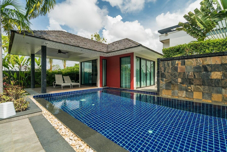 Diamond 273 - Modern 4 bedroom private pool วิลลา 4 ห้องนอน 4 ห้องน้ำส่วนตัว ขนาด 290 ตร.ม. – บางเทา