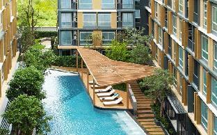 [スクンビット]アパートメント(23m2)| 1ベッドルーム/1バスルーム 61 EKKAMAI BTS丨UPPER DISTRICT丨WIFI 丨POOL AND GYM