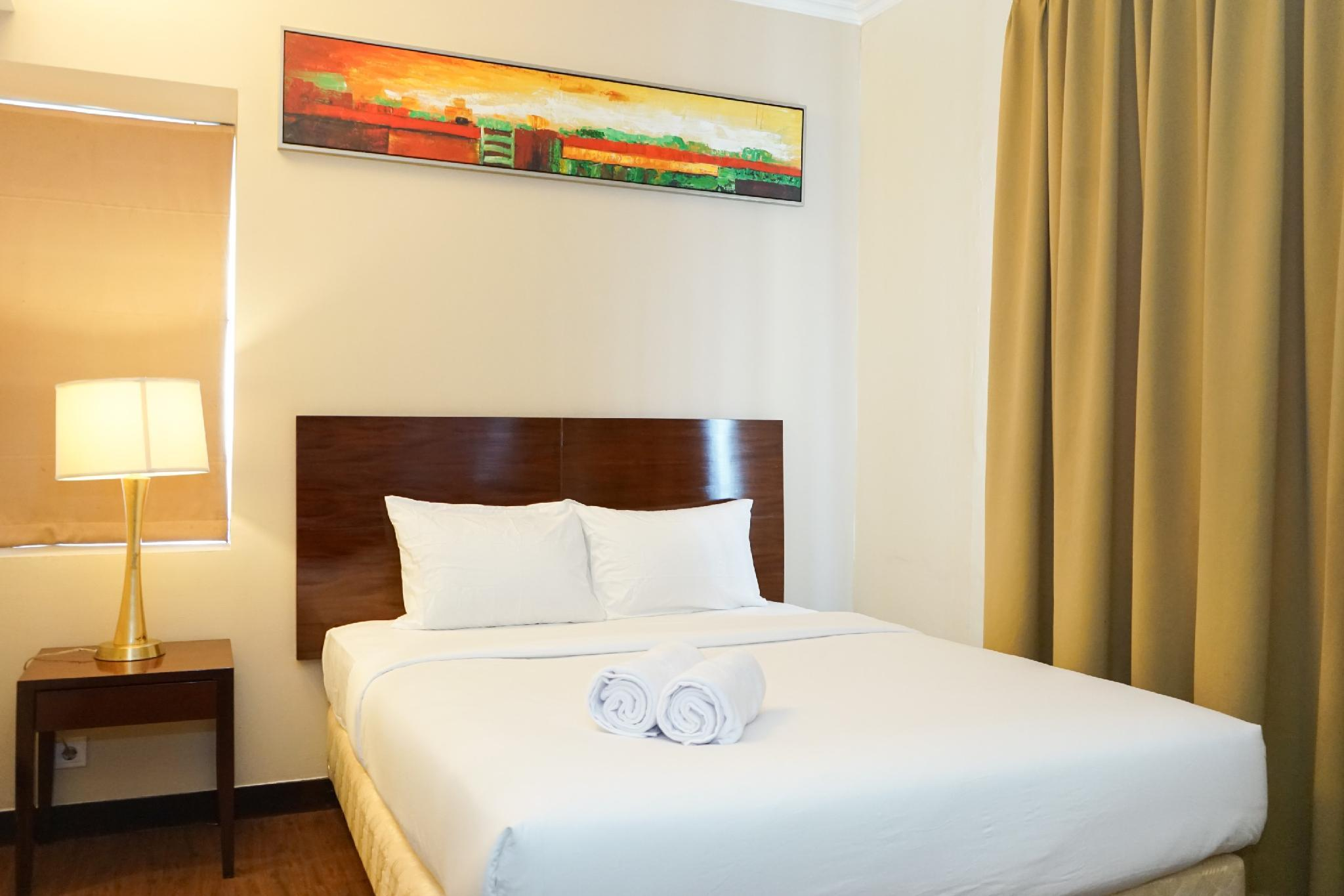 Simple 1BR @ Ancol Marina Apartment By Travelio