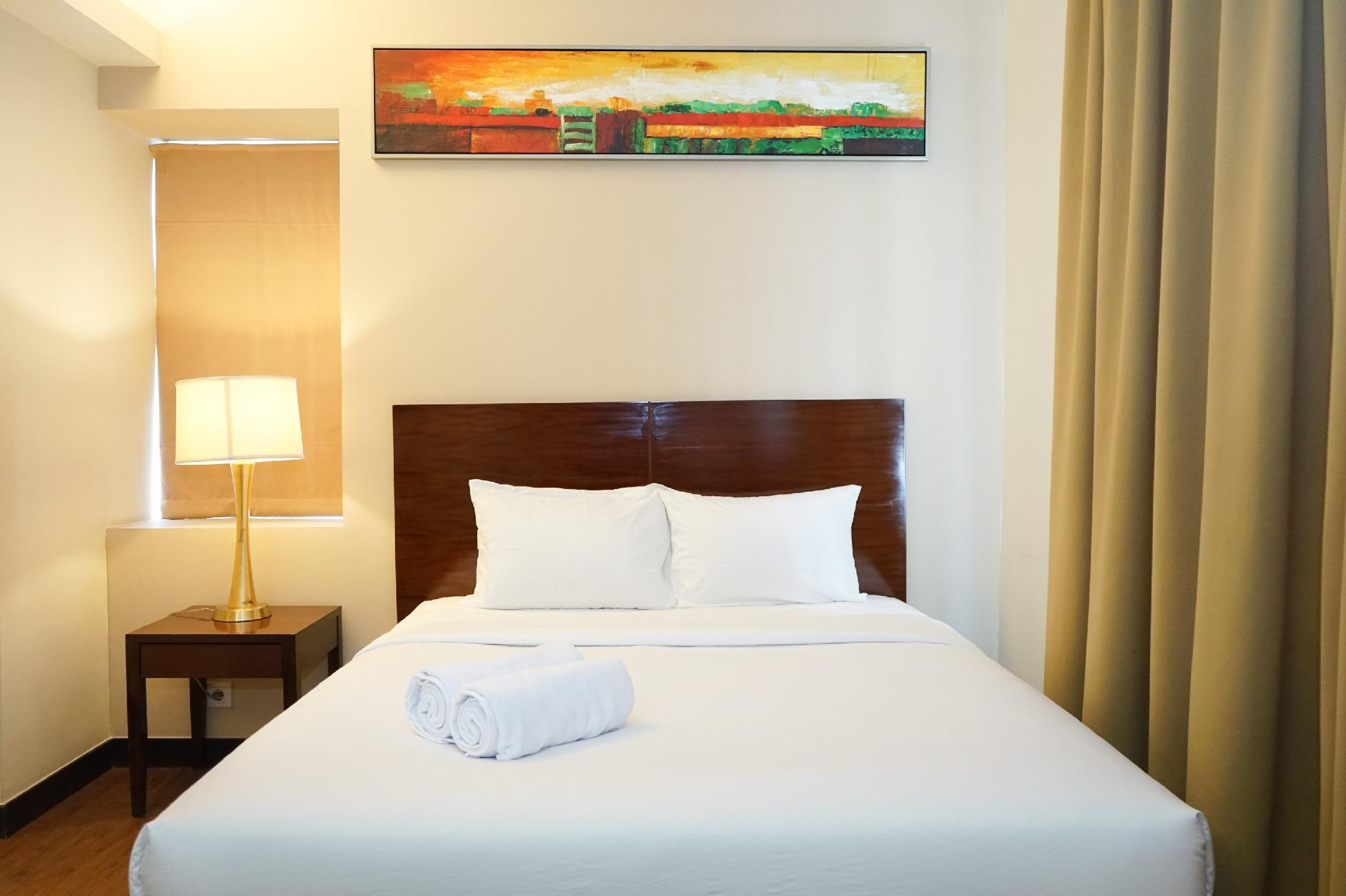 Comfort 1BR @ Ancol Marina Apartment By Travelio