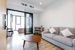 WIFI comfy 1 bed /BTS Mo Chit /MRT Jatujak 5 mins อพาร์ตเมนต์ 1 ห้องนอน 1 ห้องน้ำส่วนตัว ขนาด 34.25 ตร.ม. – จตุจักร