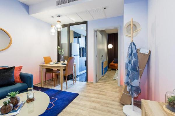 Colorful 1 BR /with greenery view near JJ Park Bangkok