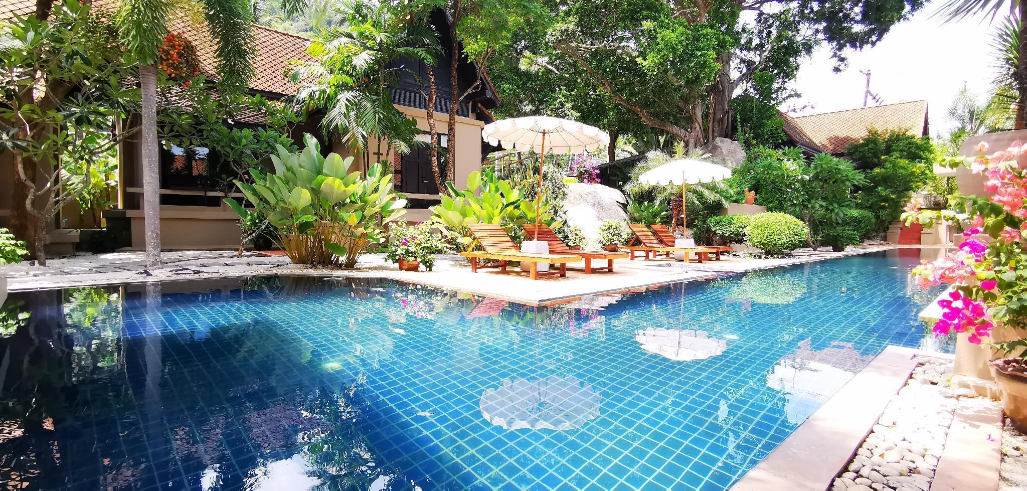 Montra Hotel Koh Samui   1-villa 1-bedroom วิลลา 1 ห้องนอน 1 ห้องน้ำส่วนตัว ขนาด 75 ตร.ม. – หน้าเมือง