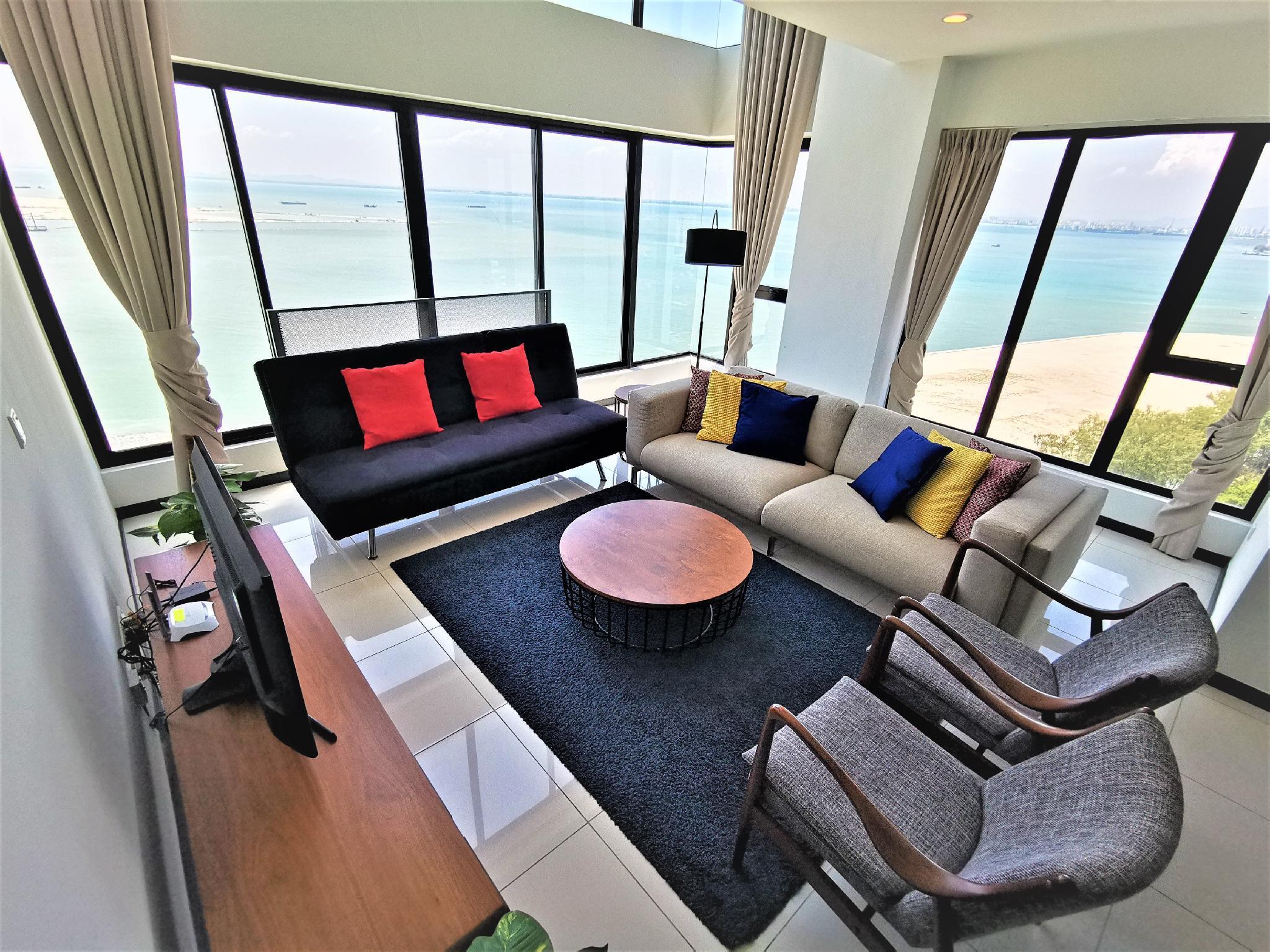 2BR Family Seaview Suite 123 @ Sunrise Gurney