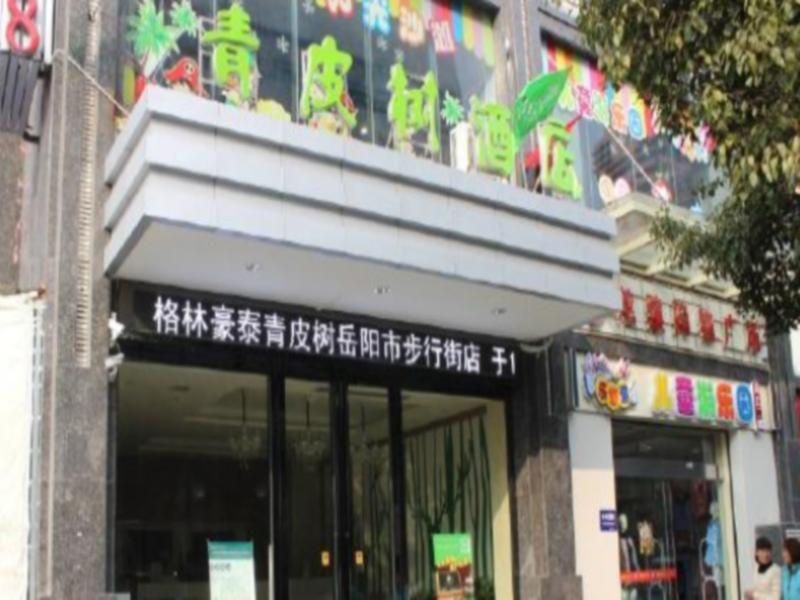 GreenTree Inn Vatica Hunan Yueyang Pedsetrian Street Beifudao Hotel
