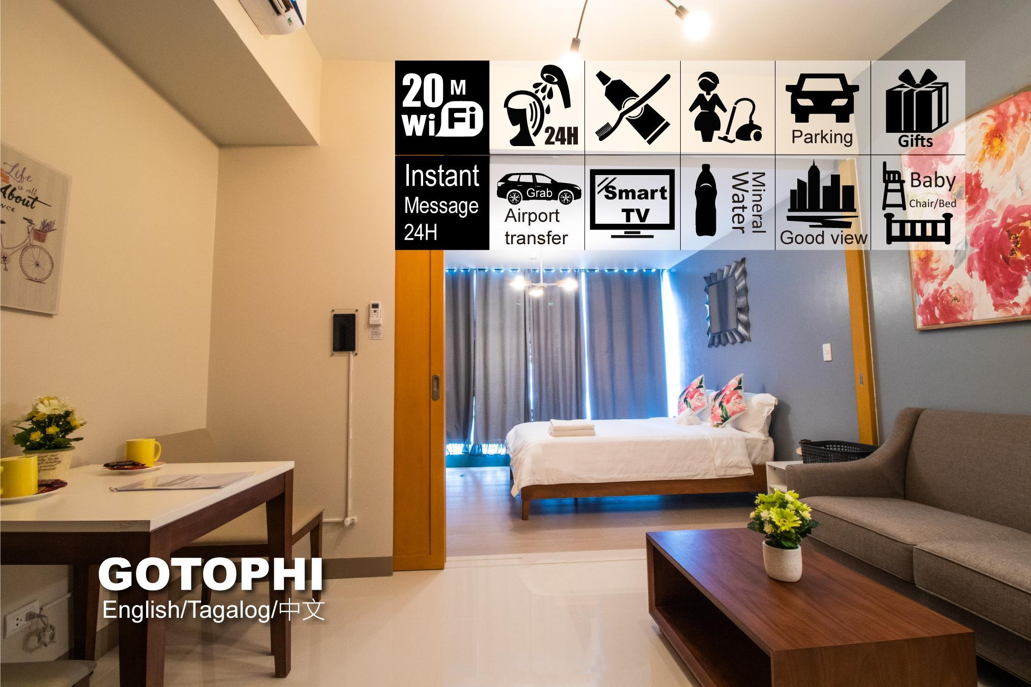 One Uptown Residence BGC Gotophi 5Star Hotel 21K