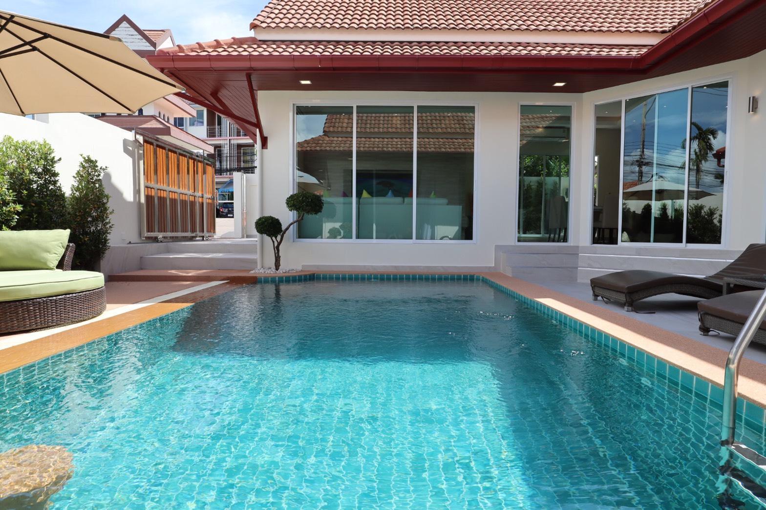 Luxury Pool Villa A14 / 3BR 6-8 persons วิลลา 3 ห้องนอน 4 ห้องน้ำส่วนตัว ขนาด 336 ตร.ม. – เขาตาโล
