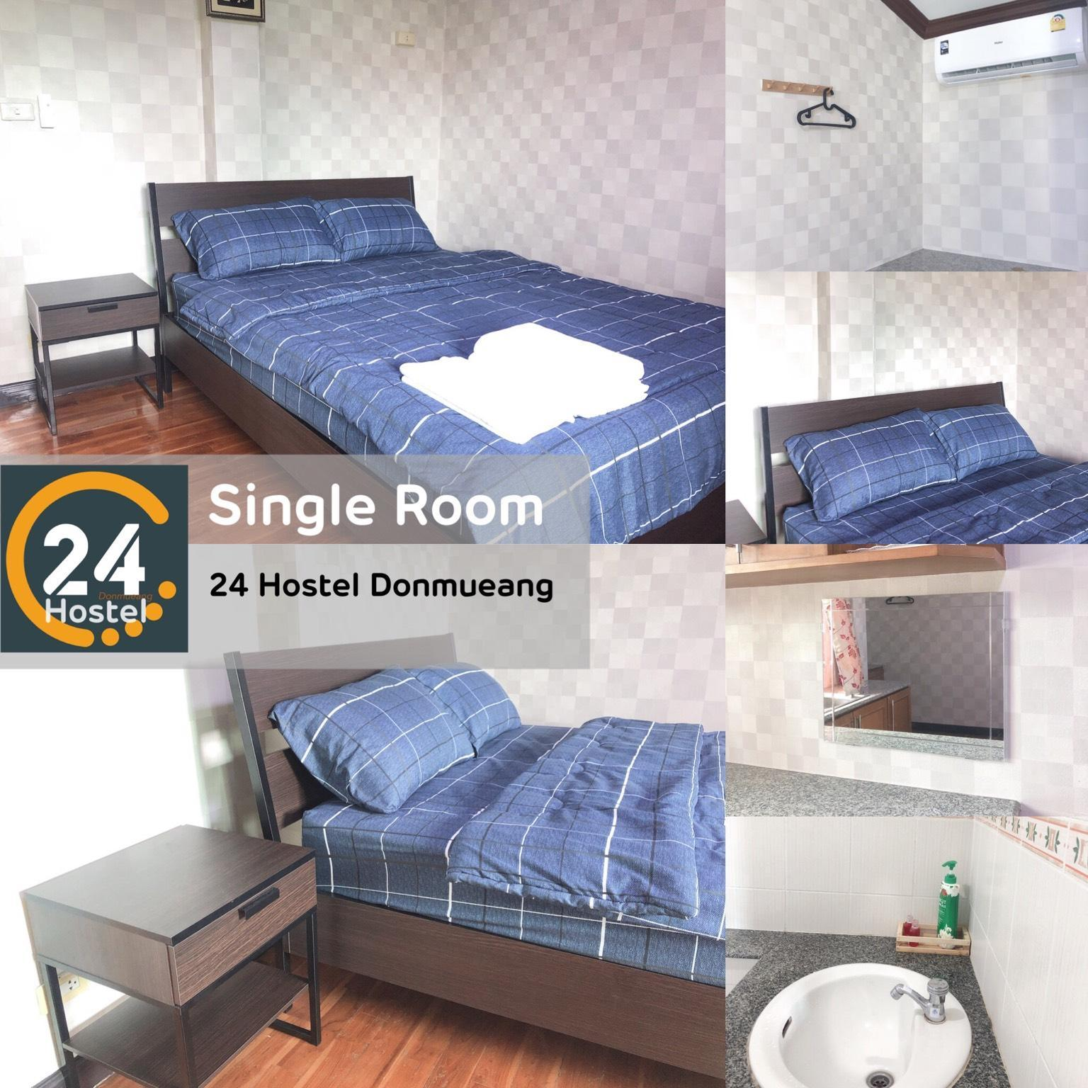 24 Hostel Donmueang  Single Room