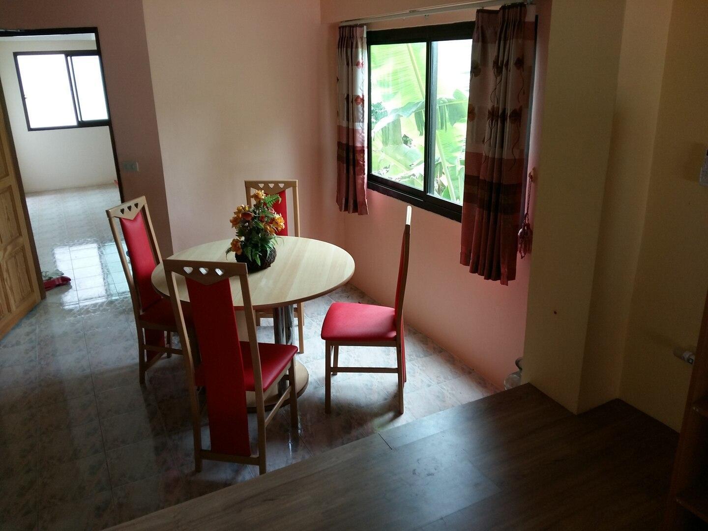 Beach Apartment Hat Mae Ramphueng 3 สตูดิโอ อพาร์ตเมนต์ 1 ห้องน้ำส่วนตัว ขนาด 40 ตร.ม. – หาดระยอง