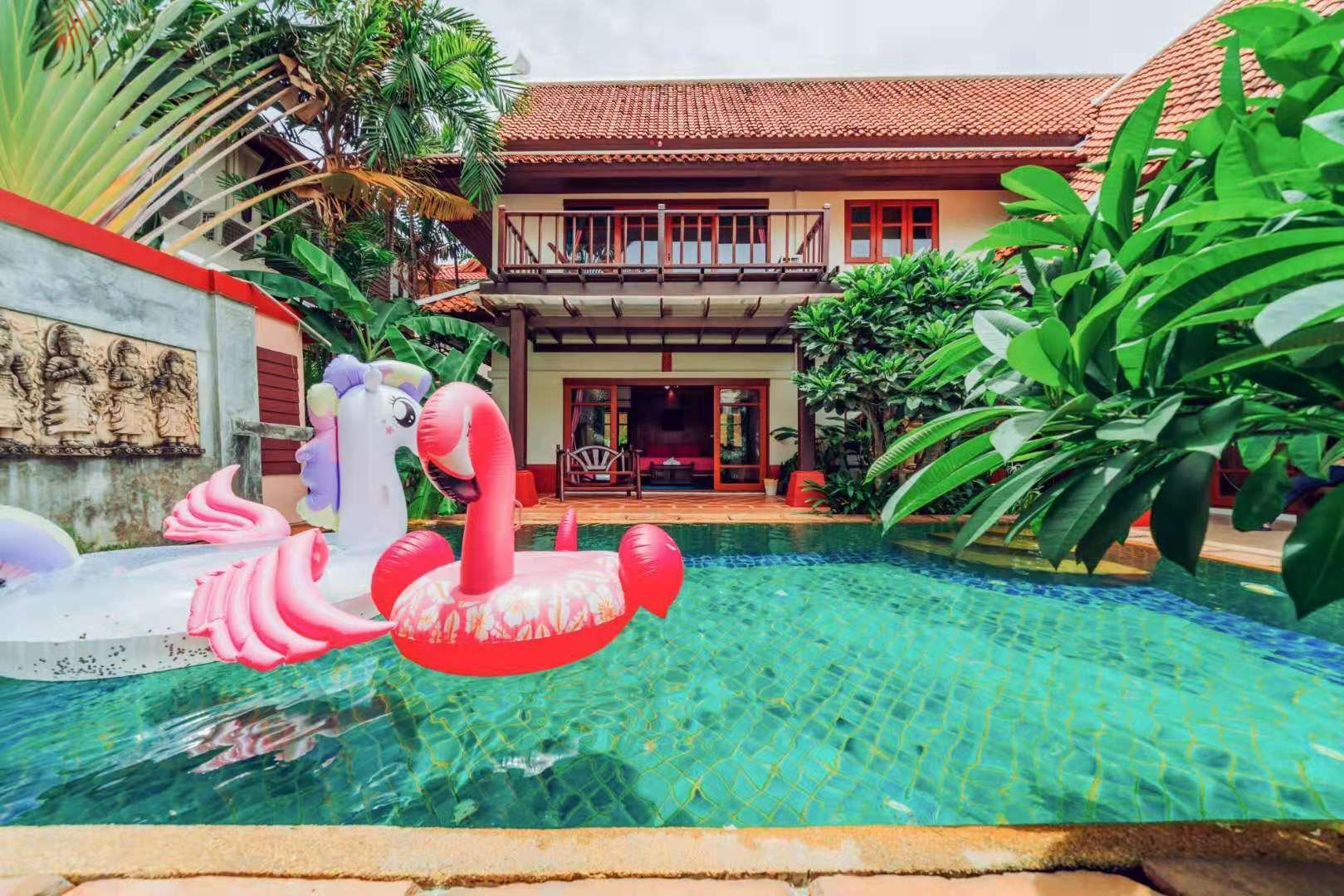 Newly Decorated Thai Style Detached Pool Villa