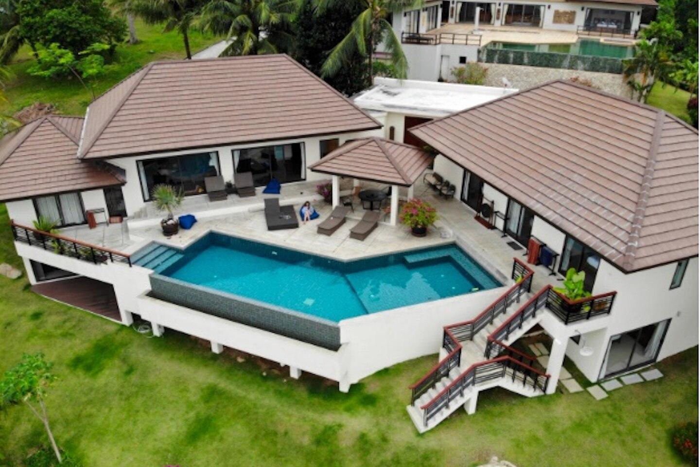 3 Bedroom Sea View Villa Angthong Hills วิลลา 3 ห้องนอน 3 ห้องน้ำส่วนตัว ขนาด 1500 ตร.ม. – บางปอ