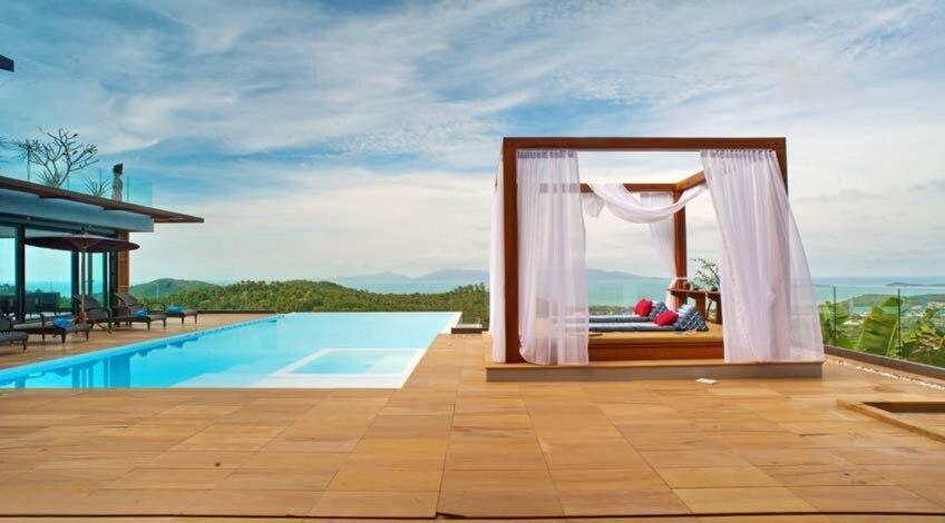 2 Bedroom Sea Blue Villa - 5 Star with Staff วิลลา 2 ห้องนอน 2 ห้องน้ำส่วนตัว ขนาด 100 ตร.ม. – หาดบ่อผุด