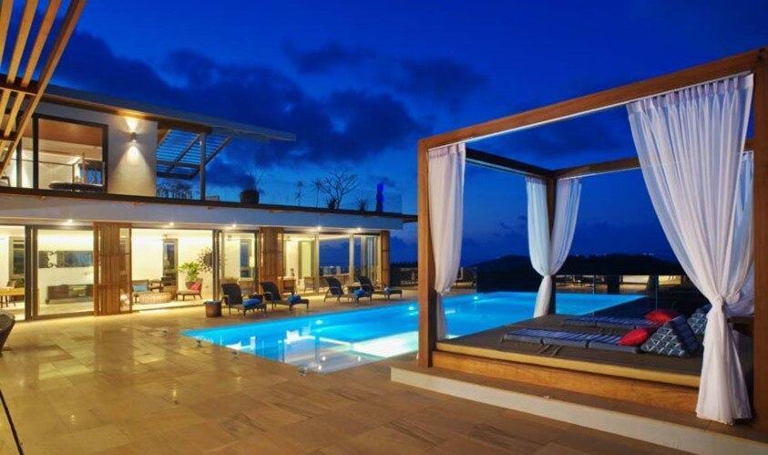 4 Bedroom Villa Sea Blue   5 Star With Staff