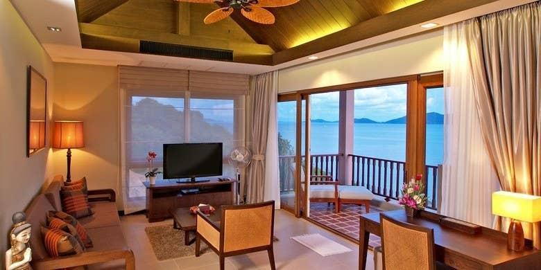 Luxury Penthouse - Infinity Pool อพาร์ตเมนต์ 2 ห้องนอน 2 ห้องน้ำส่วนตัว ขนาด 45 ตร.ม. – เกาะช้างใต้