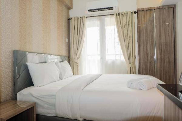 Comfortable Fully Furnished Studio Green Pramuka City Apartment By Travelio Jakarta