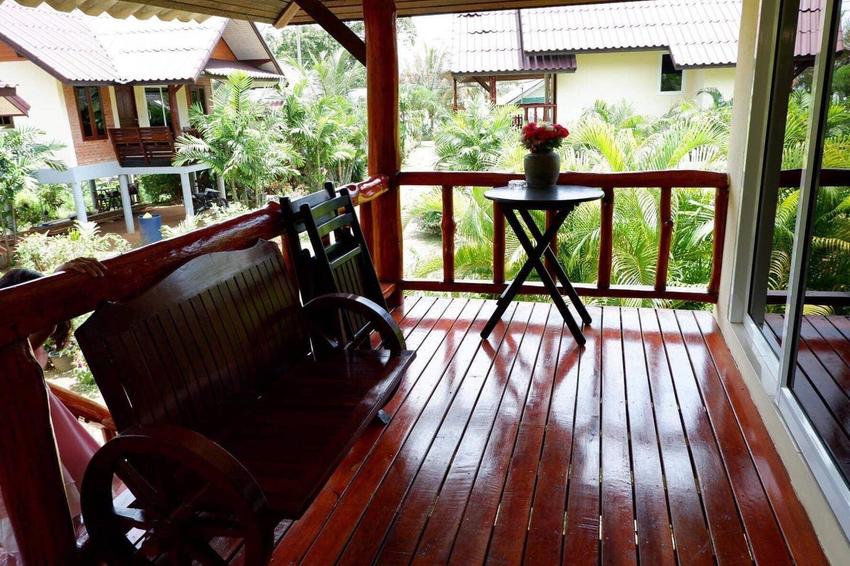 Mookdaman Bungalow (Air con)Koh Yao Noi PhangNga บ้านเดี่ยว 1 ห้องนอน 1 ห้องน้ำส่วนตัว ขนาด 35 ตร.ม. – เกาะยาวน้อย