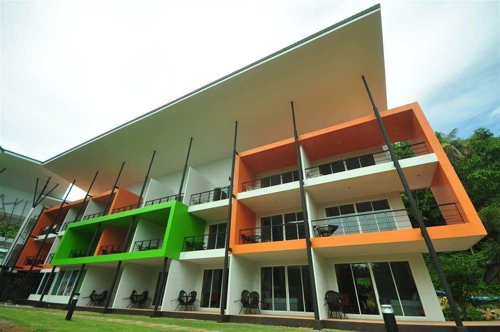 Modern Family room for 4 on Phi Phi 2 อพาร์ตเมนต์ 1 ห้องนอน 2 ห้องน้ำส่วนตัว ขนาด 40 ตร.ม. – อ่าวต้นไทร