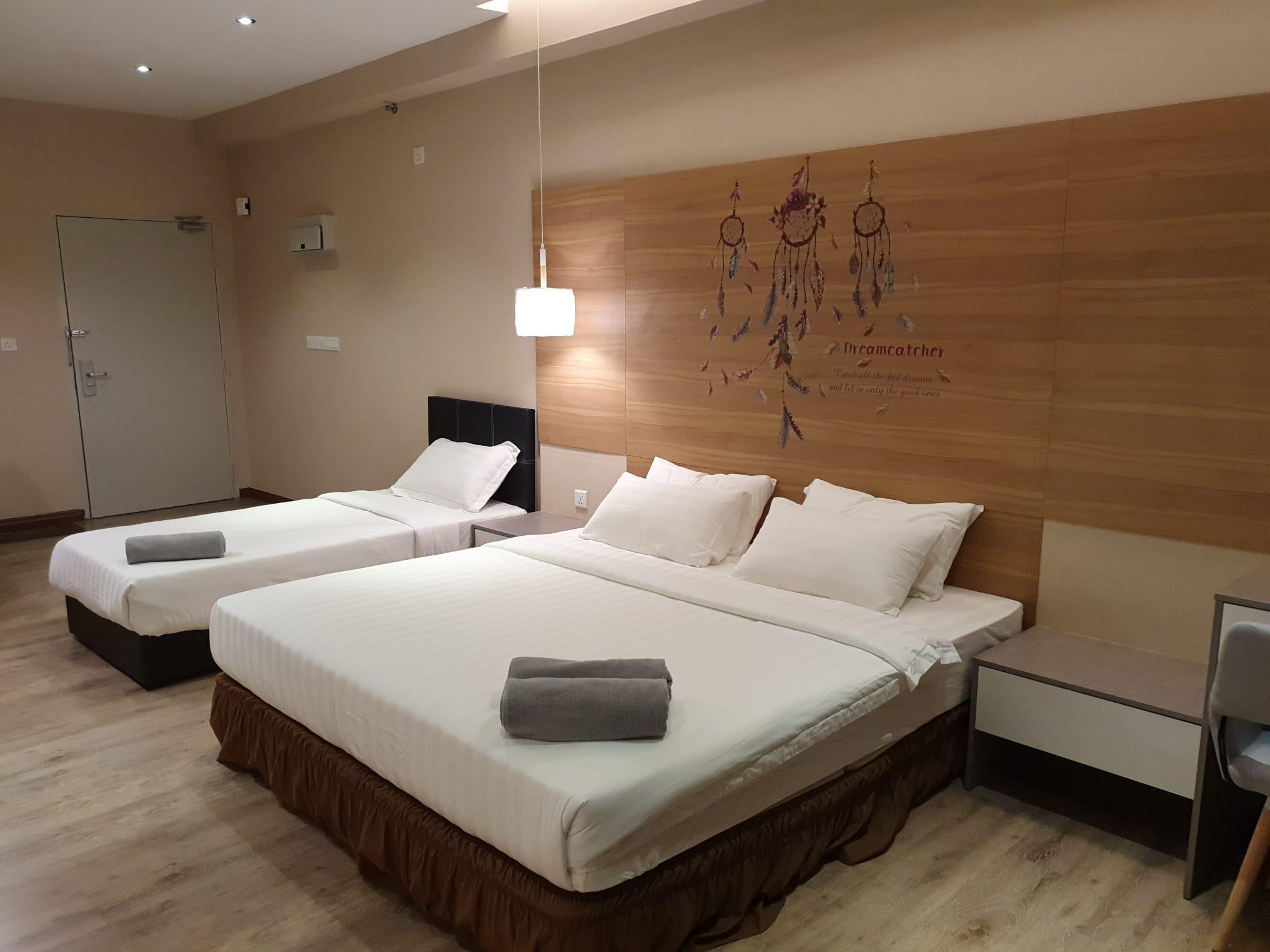 Aeropod KK Big Studio Room K1 6 1B @ Golden Suite