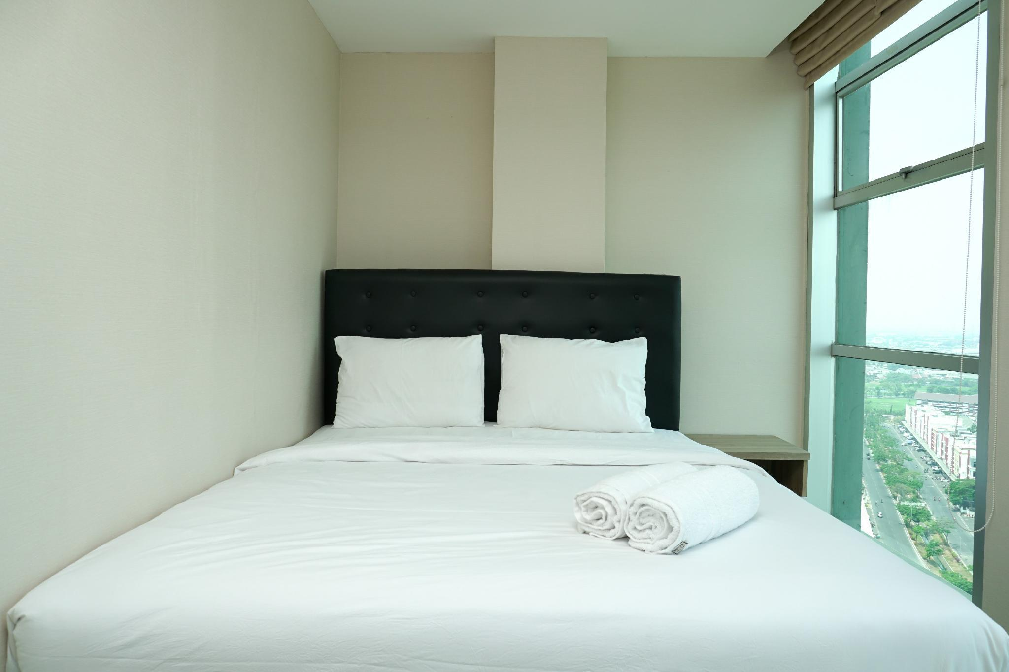 New 2BR Gading Greenhill Apartment By Travelio