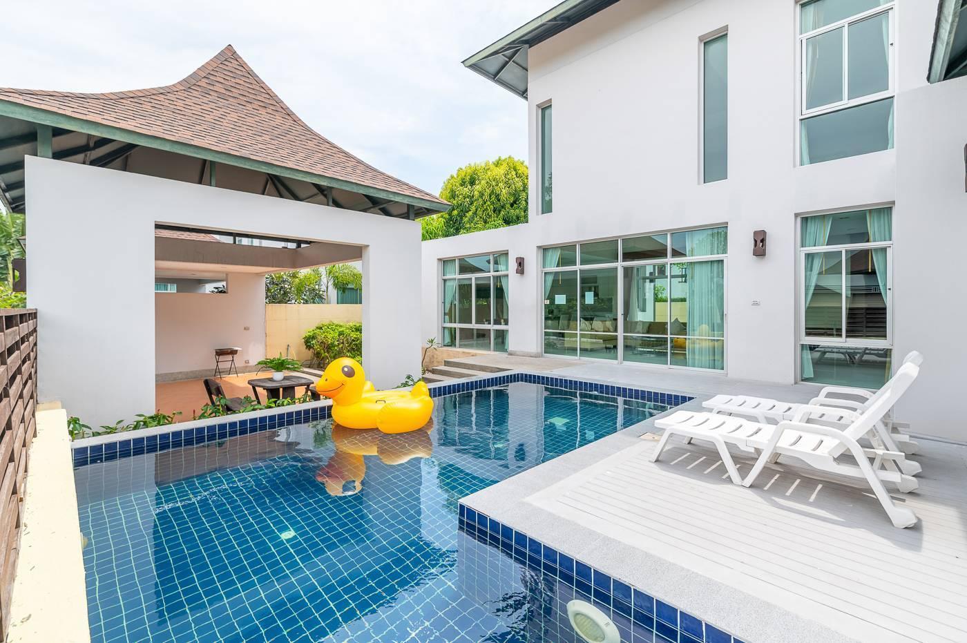 AnB Pool Villa Glass House Close To Jomtien Beach