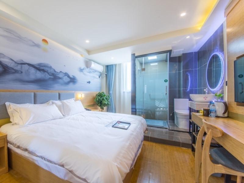 Shell Yangzhou JianGYAng Zhong Road Hehuachi Hotel