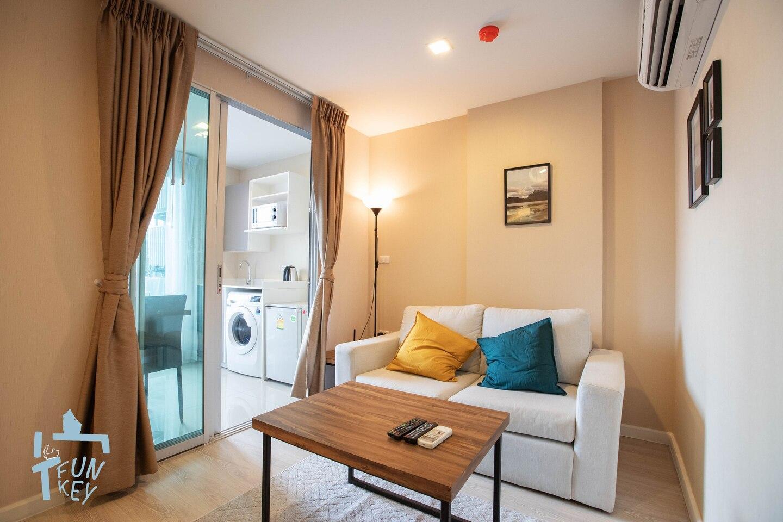 Garden Apartment Next To BangkokUniversity Bkb136