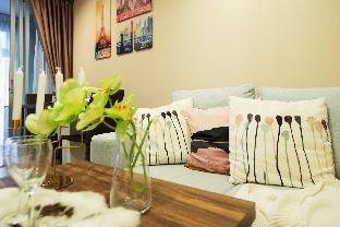 [スクンビット]アパートメント(30m2)| 1ベッドルーム/1バスルーム Double apartment next to Bangkok University bkb139