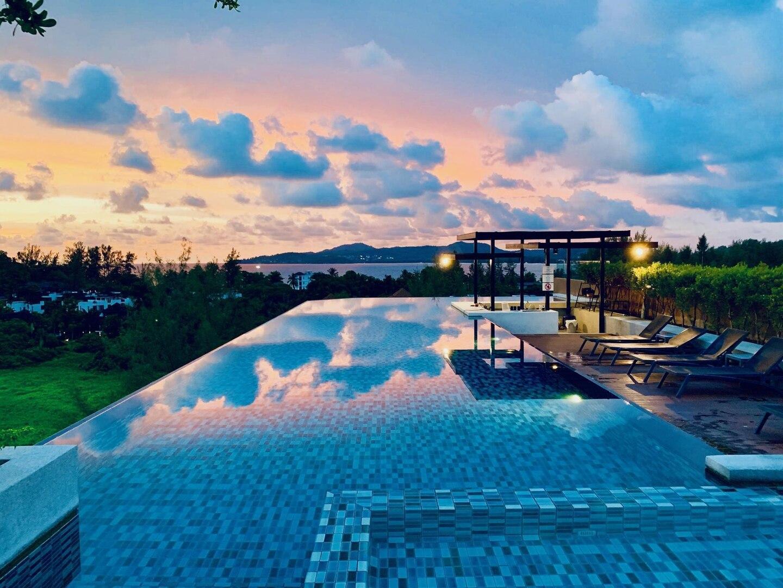 6Av 214 - Surin beach studio with pool and gym สตูดิโอ อพาร์ตเมนต์ 1 ห้องน้ำส่วนตัว ขนาด 28 ตร.ม. – สุรินทร์