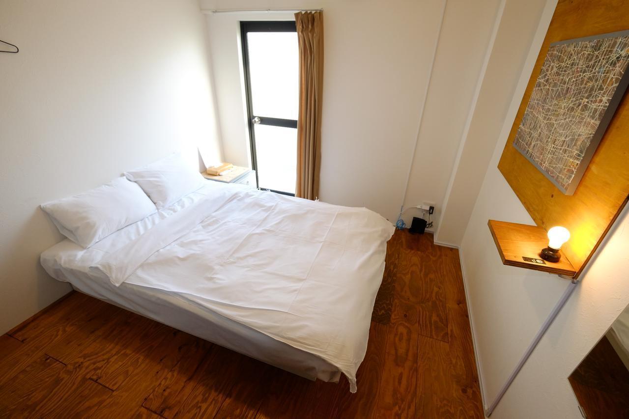 012 SCALENE HOSTEL Double Bed Room 4min To Namba