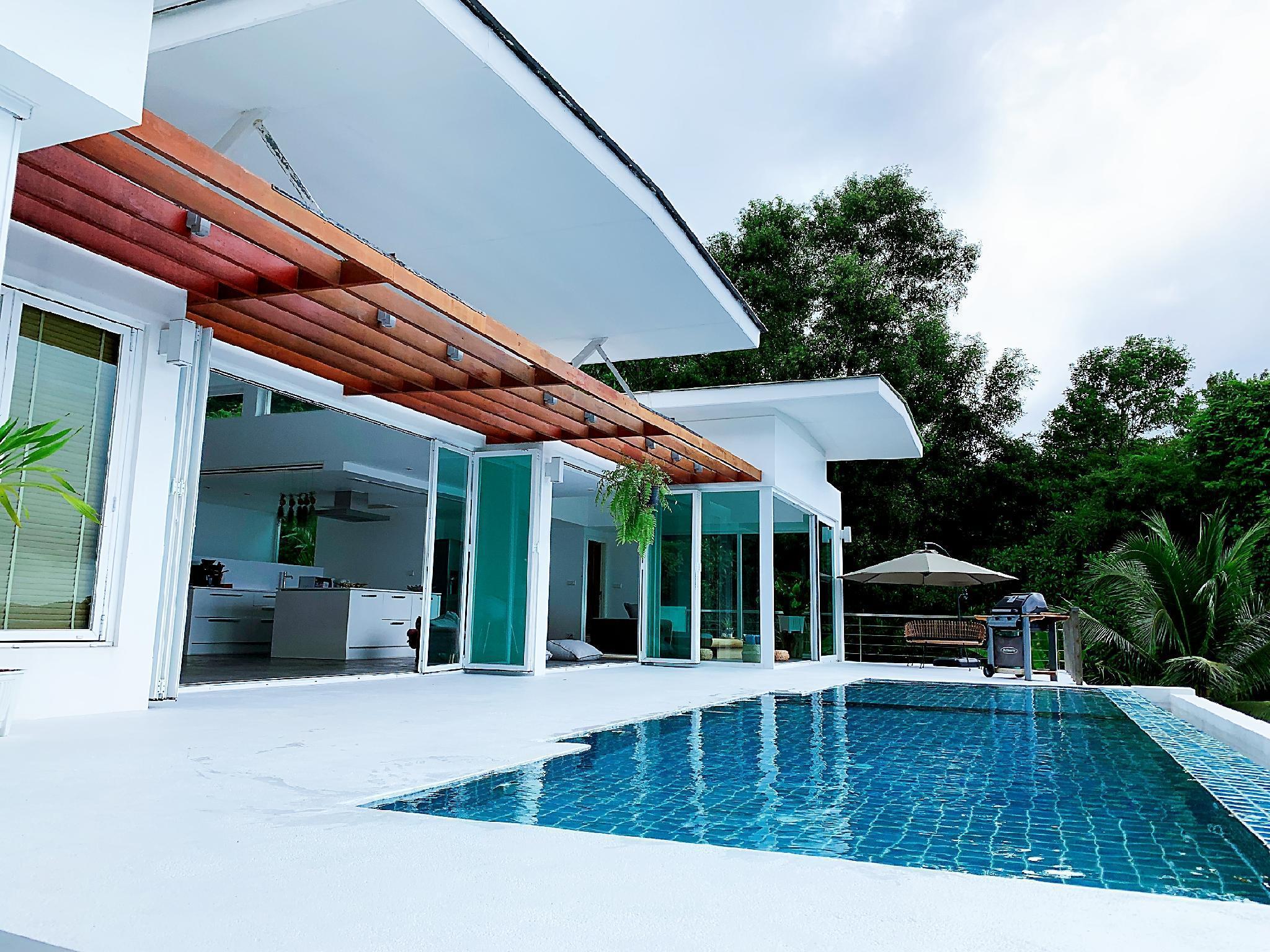 Tain blue Villa three bedrooms Villa วิลลา 3 ห้องนอน 4 ห้องน้ำส่วนตัว ขนาด 1000 ตร.ม. – กมลา