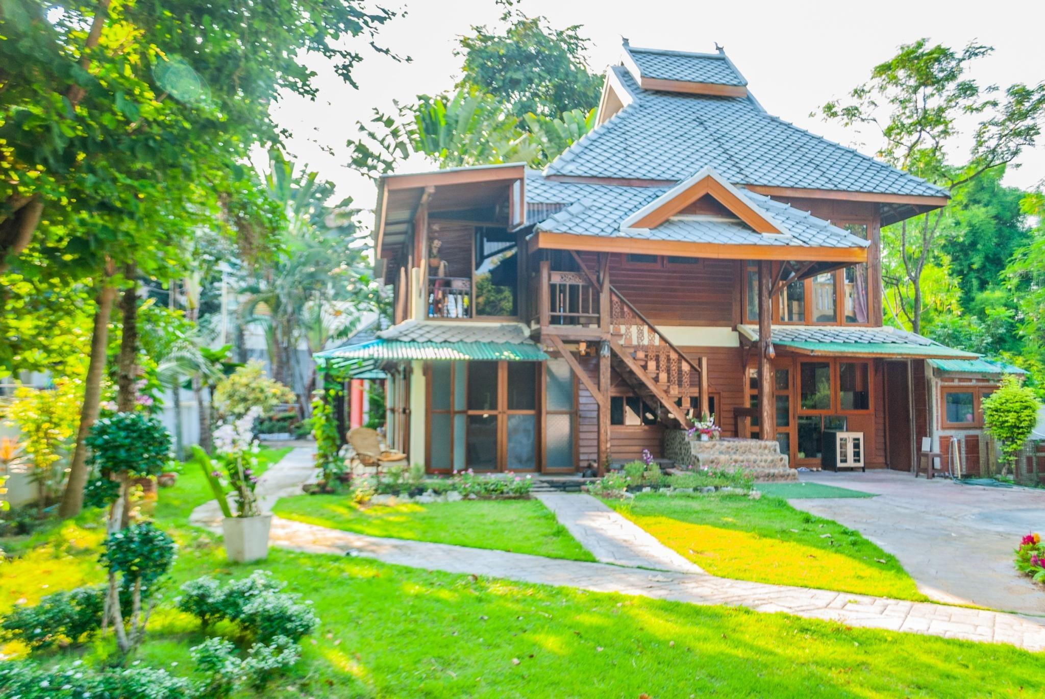 Traditional Thai Lanna Style 2 Storey Wooden House