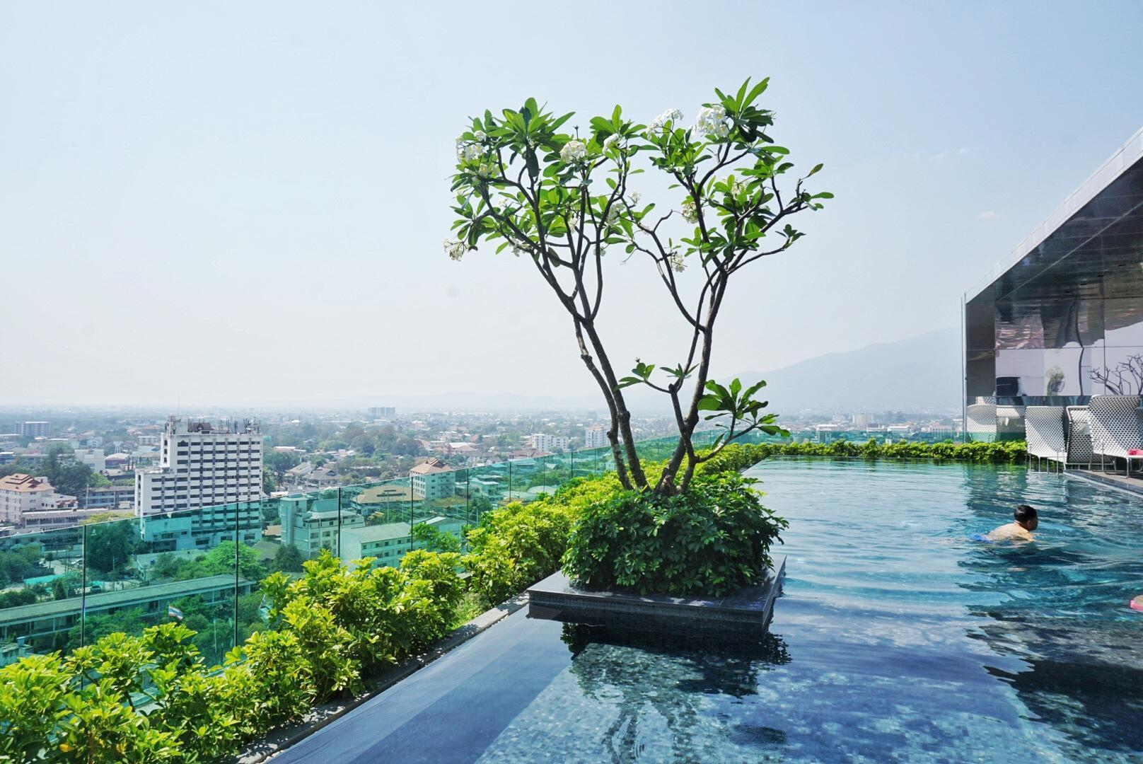 New2BR Great Location Close Old City Infinity Pool