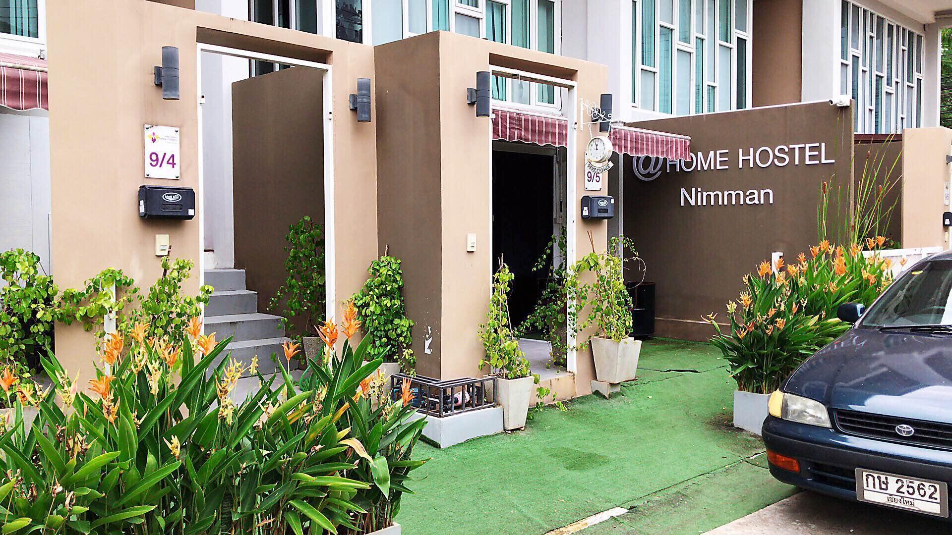 @home hostel Nimman บ้านเดี่ยว 1 ห้องนอน 1 ห้องน้ำส่วนตัว ขนาด 18 ตร.ม. – นิมมานเหมินทร์