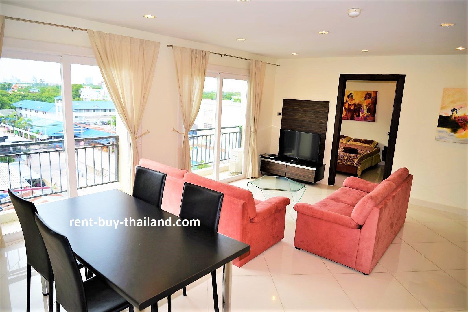 Modern 2 Bed Apartment Park Lane Resort Pattaya