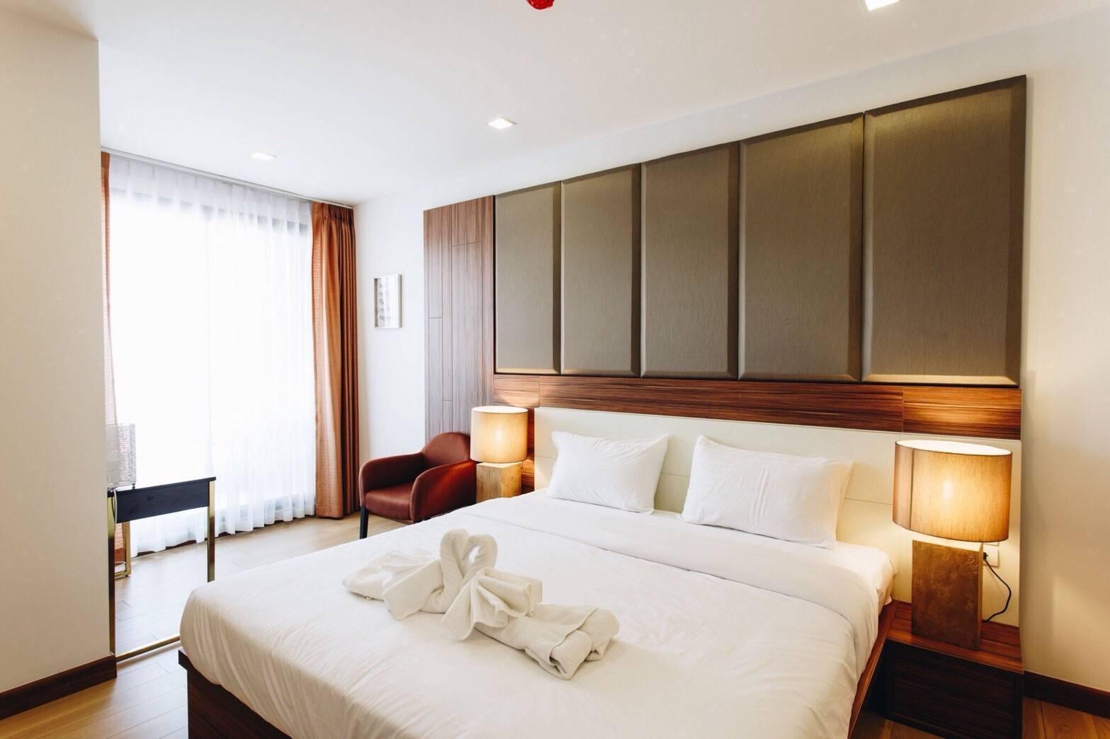 The Astra Condo Deluxe Suite อพาร์ตเมนต์ 1 ห้องนอน 1 ห้องน้ำส่วนตัว ขนาด 50 ตร.ม. – ช้างคลาน