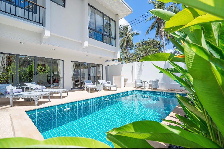 Private pool villa, 10 mins to 5 different beaches วิลลา 3 ห้องนอน 3 ห้องน้ำส่วนตัว ขนาด 134 ตร.ม. – เชิงมน
