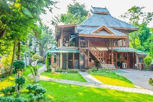 Thai Traditional wooden houses with flower gardens บ้านเดี่ยว 4 ห้องนอน 3 ห้องน้ำส่วนตัว ขนาด 300 ตร.ม. – สันผีเสื้อ