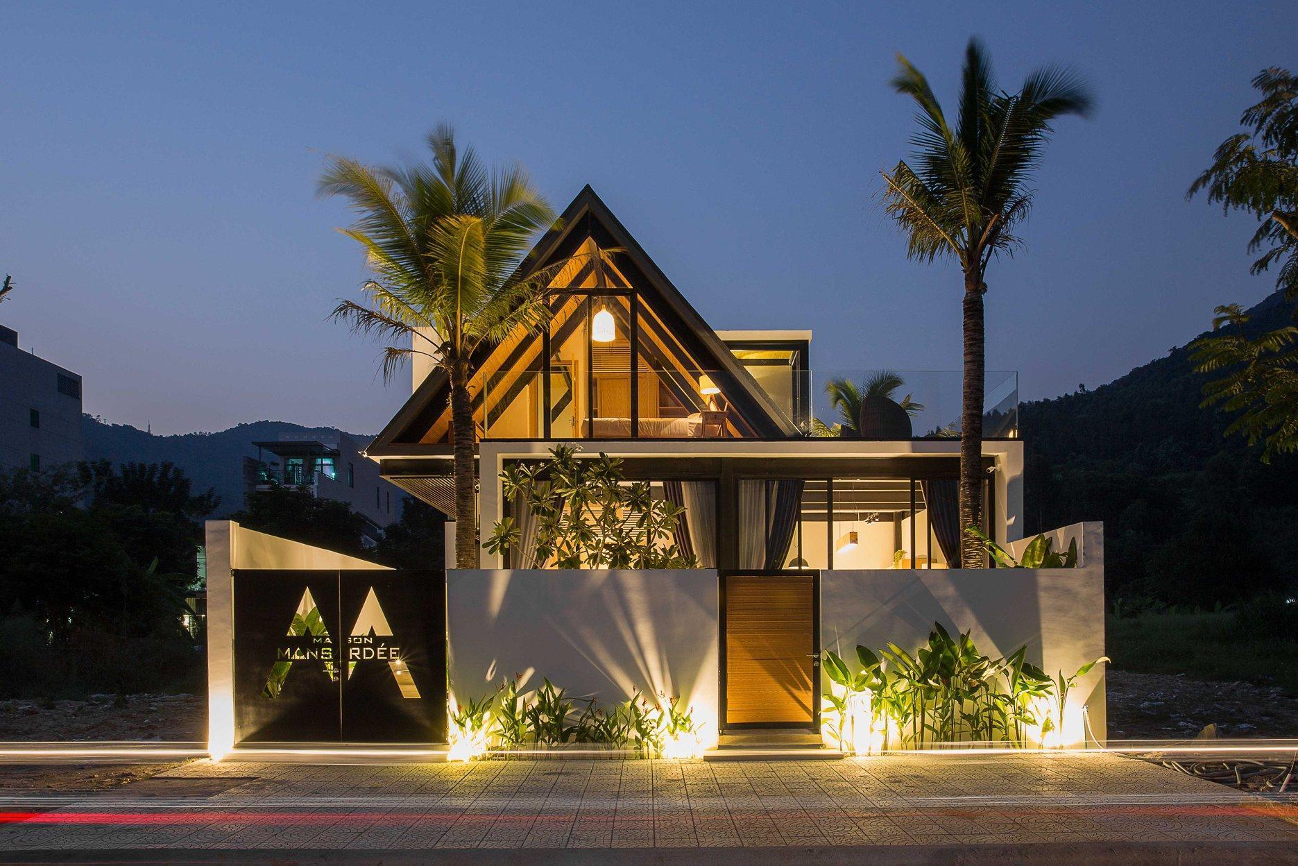 Maison Mansardee*ARTIST Minimal Double Villa*Pool