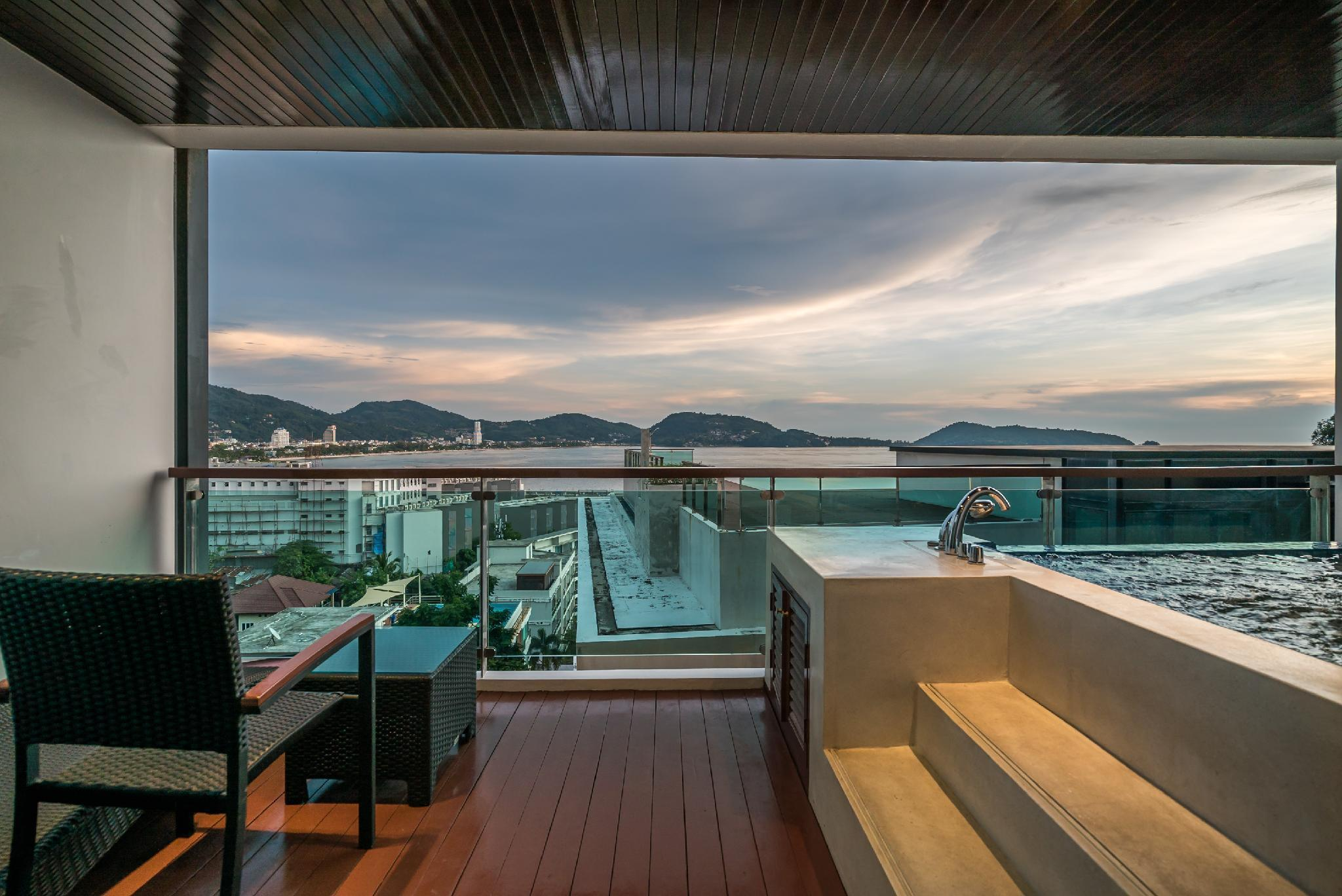 Private pool sea view apartment on Kalim bay - A1 อพาร์ตเมนต์ 1 ห้องนอน 1 ห้องน้ำส่วนตัว ขนาด 70 ตร.ม. – ป่าตอง