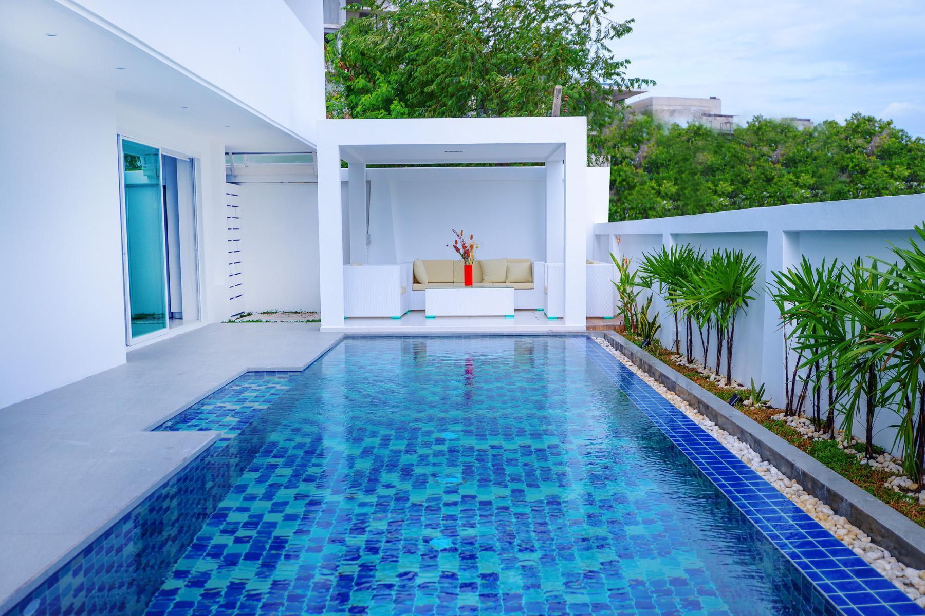 The White Pool Villa Naihan Phuket