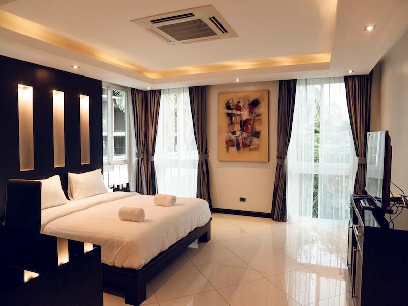 DIAMOND Pool Villa Palm Oasis Jacuzzi, Sauna 6 ห้องนอน 5 ห้องน้ำส่วนตัว ขนาด 570 ตร.ม. – หาดจอมเทียน