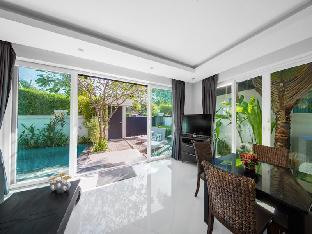 [ジョムティエンビーチ](140m2)| 2ベッドルーム/2バスルーム FAMILY Pool  Villa 2 Bedroom Palm Oasis Village