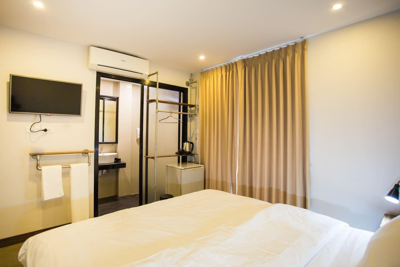 The arak bed bar and hostel city view 4 1 ห้องนอน 1 ห้องน้ำส่วนตัว ขนาด 30 ตร.ม. – เขตเมืองเก่า