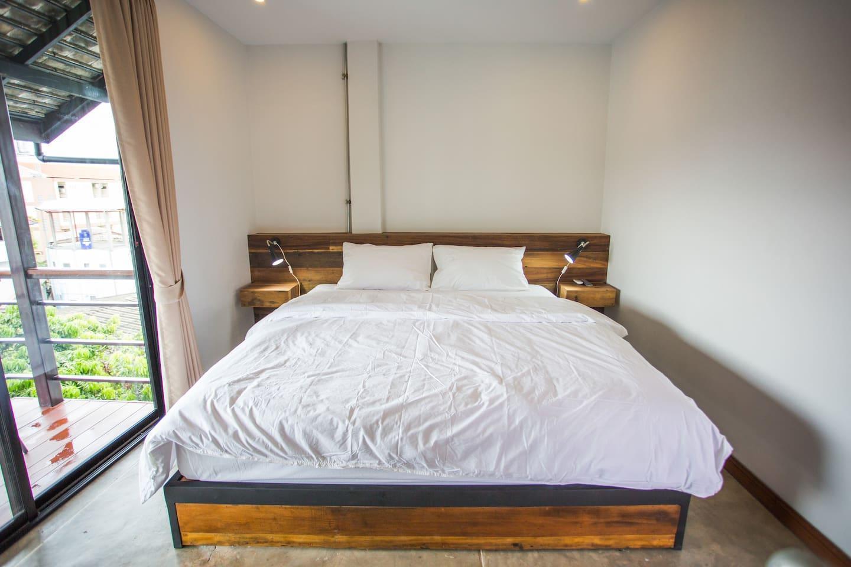 Deluxe room in the old city chiangmai 1 ห้องนอน 1 ห้องน้ำส่วนตัว ขนาด 30 ตร.ม. – เขตเมืองเก่า
