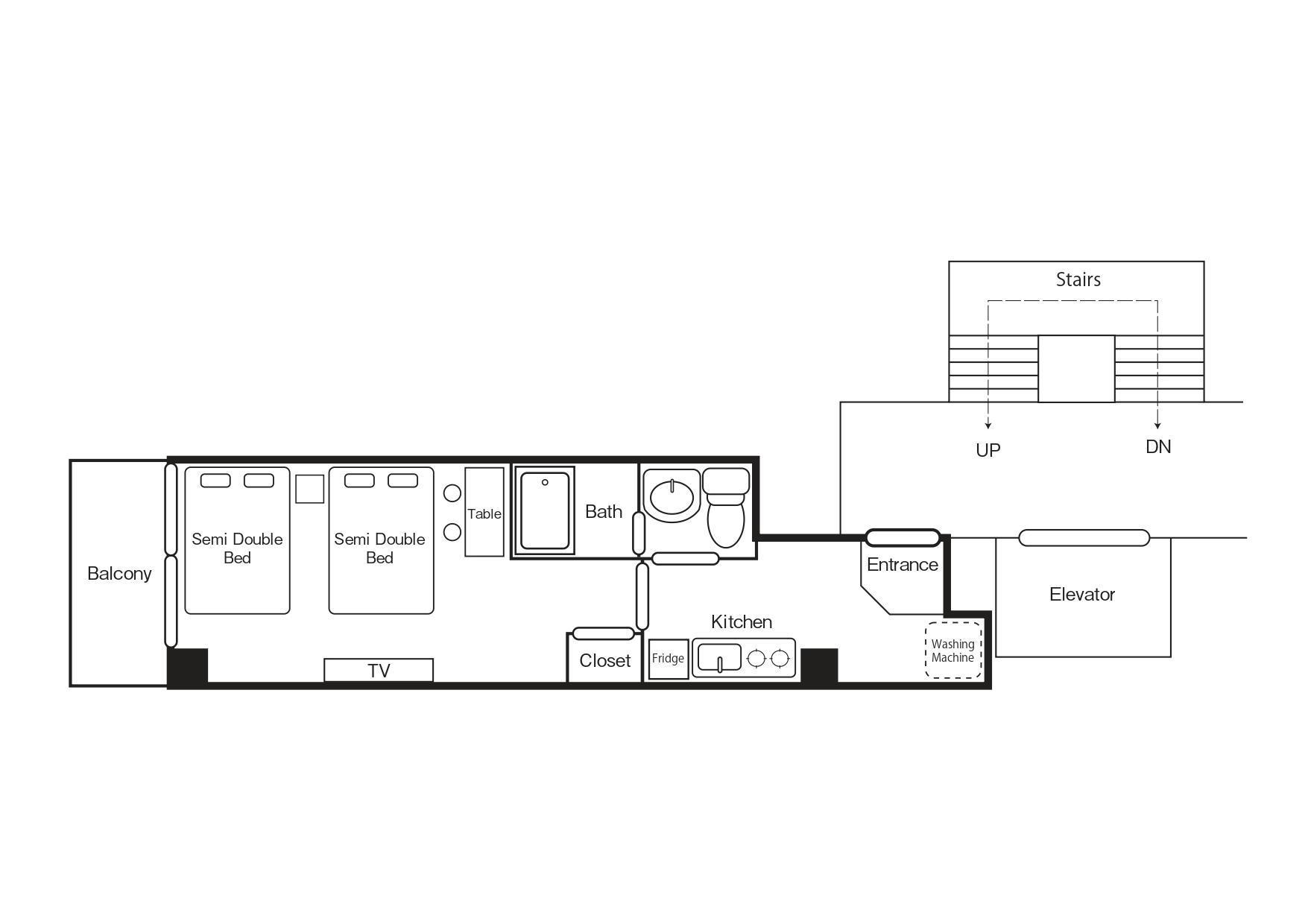 Dotonbori AFP EG Apartment2