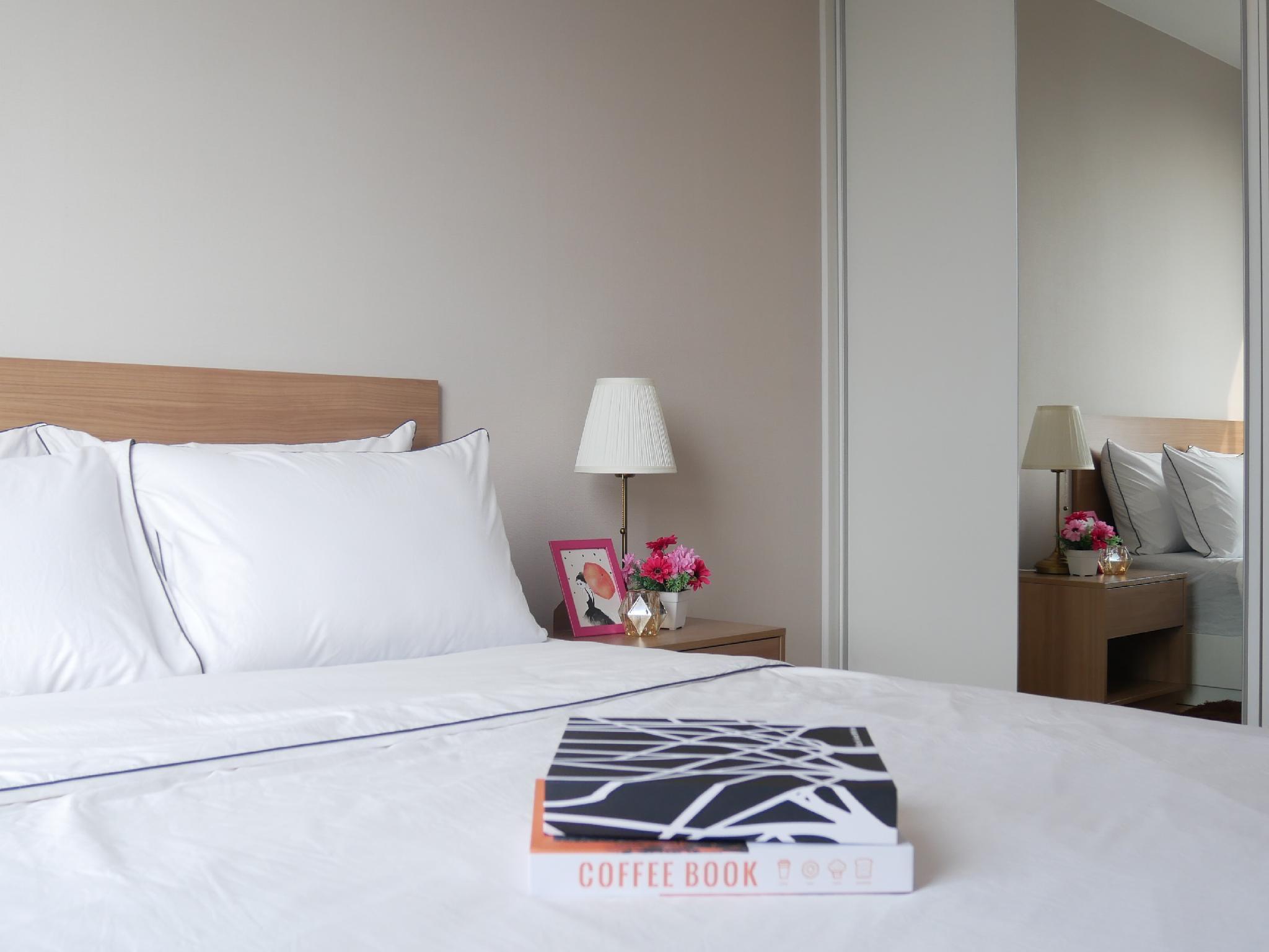 Brand New Modren@Sukhumvit /wifi/cozy/nice view อพาร์ตเมนต์ 1 ห้องนอน 1 ห้องน้ำส่วนตัว ขนาด 28 ตร.ม. – สุขุมวิท