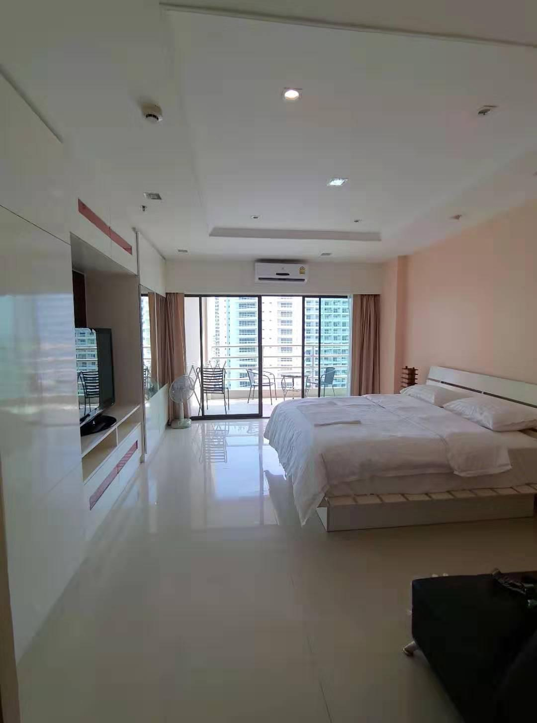 Pattaya View Talay  High end beach apartment 18 อพาร์ตเมนต์ 1 ห้องนอน 1 ห้องน้ำส่วนตัว ขนาด 48 ตร.ม. – พัทยากลาง